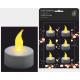 Tealight LED 6er Set, including battery,