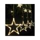 Lumières de Noël Étoiles 4 grammes +3 kl. blanc ch