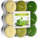 Tealight fragrance Green tea in block pack