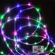 tubo luce LED, 40, multicolore,