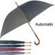 Umbrella 110cm stick automatic sort 4 colors