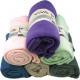 Fleecedecke UNI 130 x 170 6 kolor mieszany