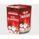 Scented candle design glass' Merry Christmas&#