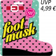 BLING POP foot mask with Shea Butter 2x18g