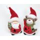 LED Santa vagy jávorszarvas XL kötött kalap 13x6x5