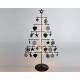 Metalen boom XXL zwart 46,5x26x12cm