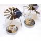 Metallwindspiel silver for tealight, 11 x 8cm