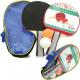 Table tennis bats Pro 2 & 2 balls in a bag