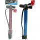Pompe à pied de vélo 31cm + 40cm Schlach, double