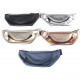 Fanny pack leatherette 30x11cm in 5 trendy