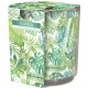 Scented Candle Motif Glass Tropical 100g Wax 7x8cm