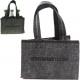 Bag shopping bag felt approx 23x15x15cm