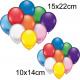 Balloons 25s, 10x14 + 15x22cm diameter