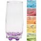 Glas Coral Saftglas 0,2l 6Farben sortiert