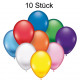 Balloons 10pcs each 22cm in diameter