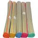 Strandmatte 180x60cm mit farblich Rand sortiert ge