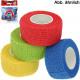 Wound bandage elastic adhesive bandage