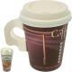 Party Tasses à café To Go 0.2L 6 avec couvercle