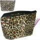 Cosmetic bag 18x16,5x4cm Tigerlook 2 fold sortie