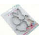 Cookie cutters XL each approx. 8 or 10cm