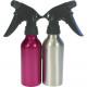 Water spray bottle metallic colors 18 x 4,5cm