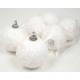 Deco snow balls set of 6! 5cm each from Polyfoam,
