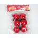 Decoration set 6pcs! Each apple 4cm,