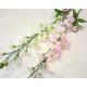 Lilien-Zweig XL, 14 Blüten und 2 Knospen 87x10cm