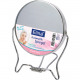 Mirror 2-sided for setting 9,5cm made of metal