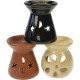 assorted Oil Warmer 3 Colors assorted 8x8cm,
