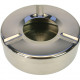Ashtray stainless steel 11x3,5cm