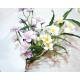 Violet bouquet 82cm with 19 heads