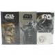 Handkerchiefs 6 x 9 Star Wars Motive 4-layer