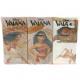 Handkerchiefs 6 x 9 Vaiana motif 4 layers