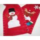 Karácsonyi zsák XL 36x18cm