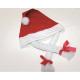 Karácsonyi kalap zsinórra 65x41x28cm