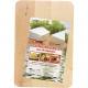 Küche Schneidebrett Eckig 22x15x1cm aus Holz