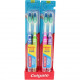 Toothbrush COLGATE 2er Extra Clean medium