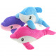 Plush Dolphin 3 times assorted , 20 x 8cm