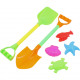 Sand toys set 40cm in the net 6-piece
