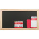 Chalk board set 28x15cm, chalk 4pcs and sponge