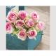 Napkins Premium 20x 33x33cm, 3-ply Pink-Ros