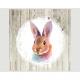 Premium napkins 20x 33x33cm, 3 ply, bunny