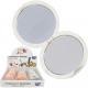 Spegel för design av väska i marmor 7cm, 2 olika