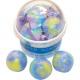 Ensemble de 3 boules de bain dans un bol avec une