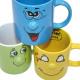 Kaffeebecher mit lustigem Gesicht , 350ml