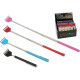 Back assorted extendable 22-59cm, 4 assorted