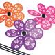 Szélmalom 20x31cm, virágos és divatos színekben