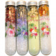Bath salt 70g in decor. Test tube, 15 x 2,8cm