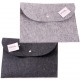 Document bag felt approx. 33x24cm, 2 assorted colo